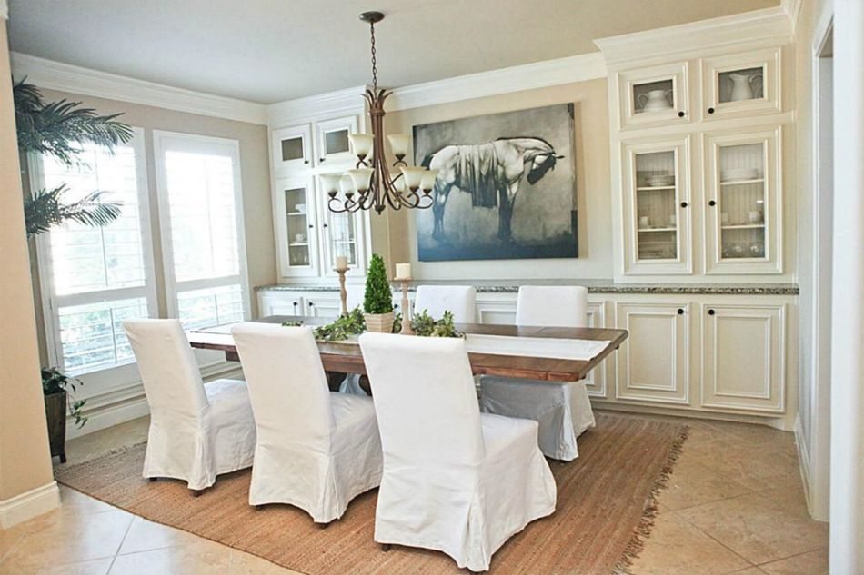 Dining Room Furniture In Wooden Comtemporary Finish With Dining Room Hutch  And Modern Dining Room Buffet
