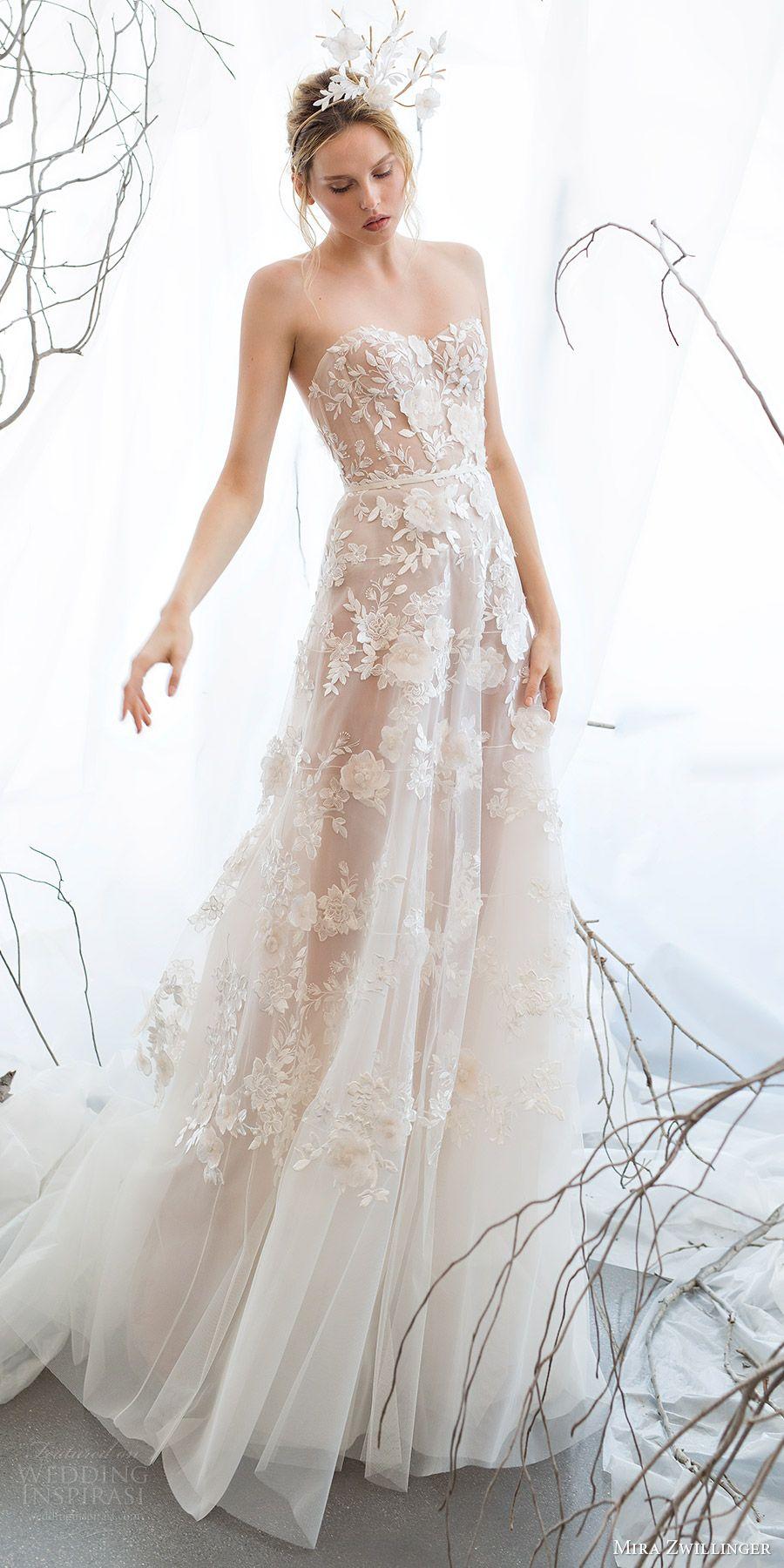 """Mira Zwillinger 2017 Wedding Dresses — """"Whisper Of Blossom"""" Bridal ..."""