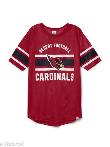 Victoria Secret PINK Arizona Cardinals Bling Jersey XS may fit S M  Boyfriend in Clothing d2ebd1620c