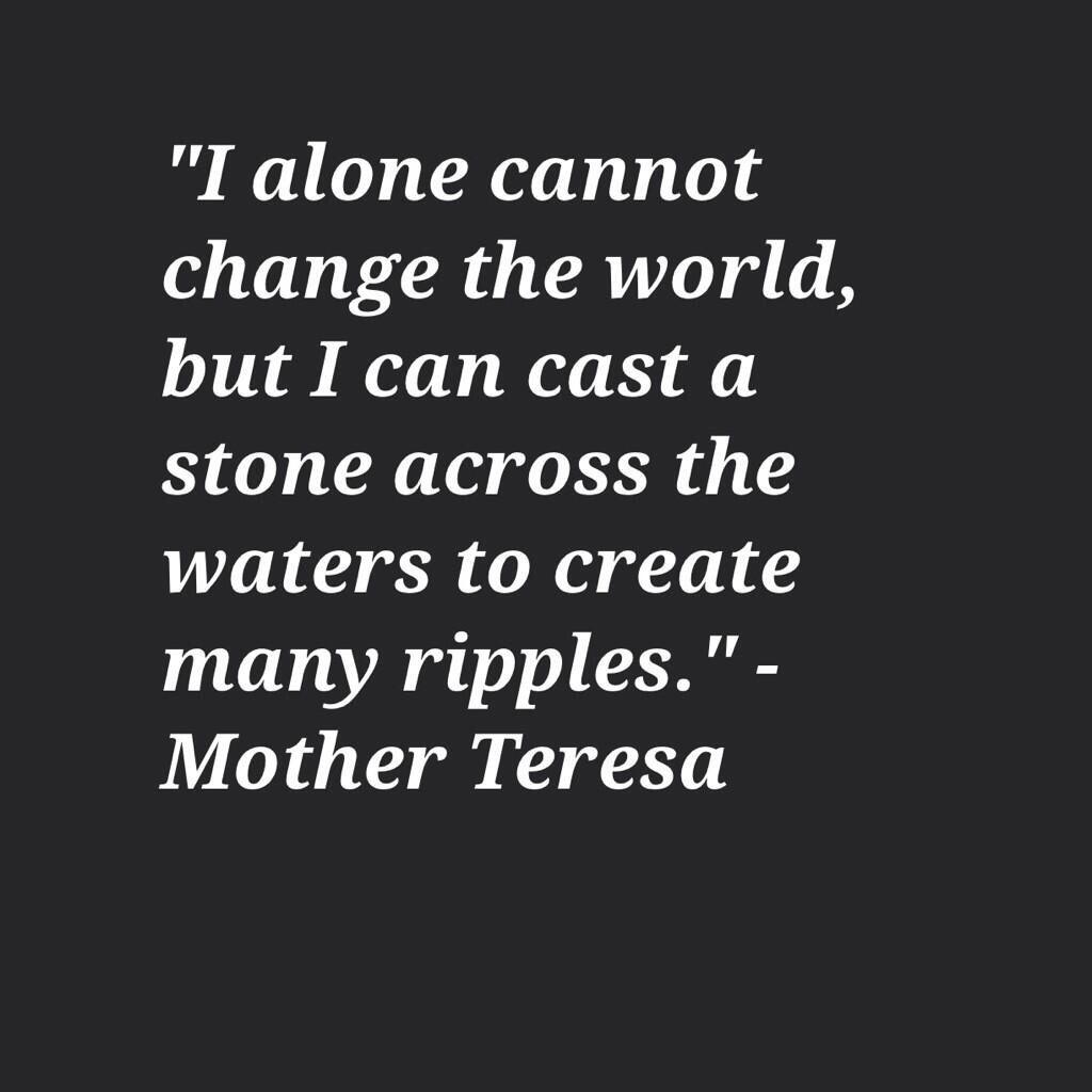 Mother Teresa saying