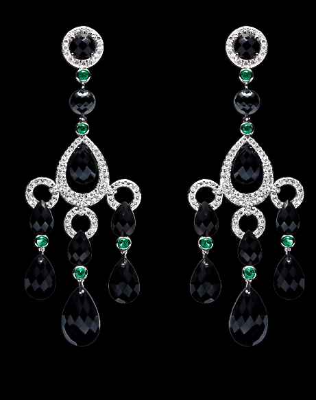 Ralph lauren18k white gold chandelier earrings jewelry ralph lauren18k white gold chandelier earrings aloadofball Gallery