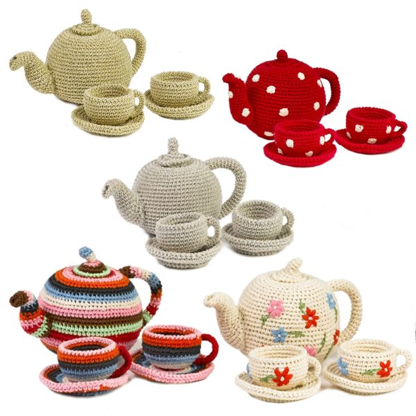 Tea AND crochet?!  Sign me up!!