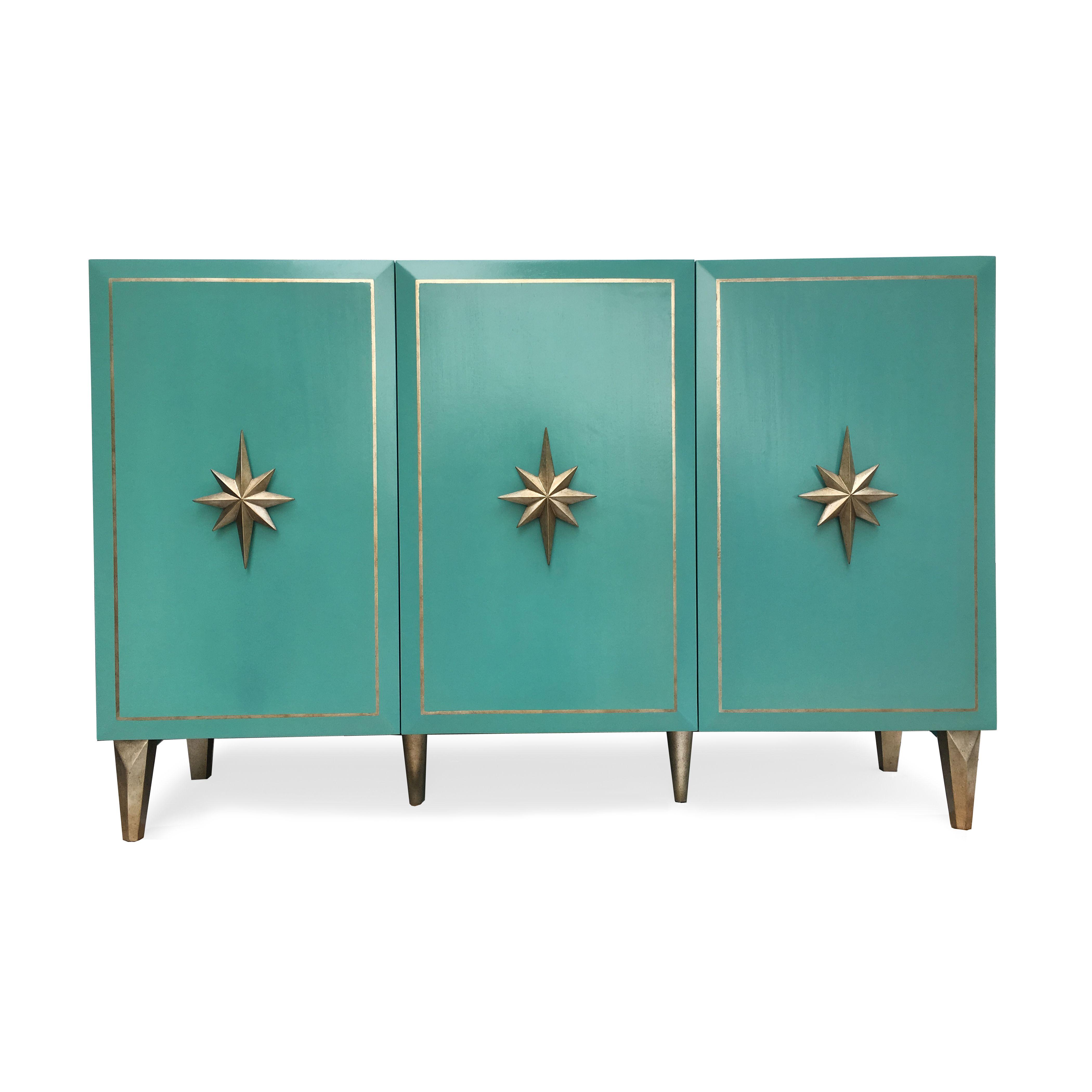 Starward 3-Door Cabinet   With a nautical feel, the Starward 3-Door ...
