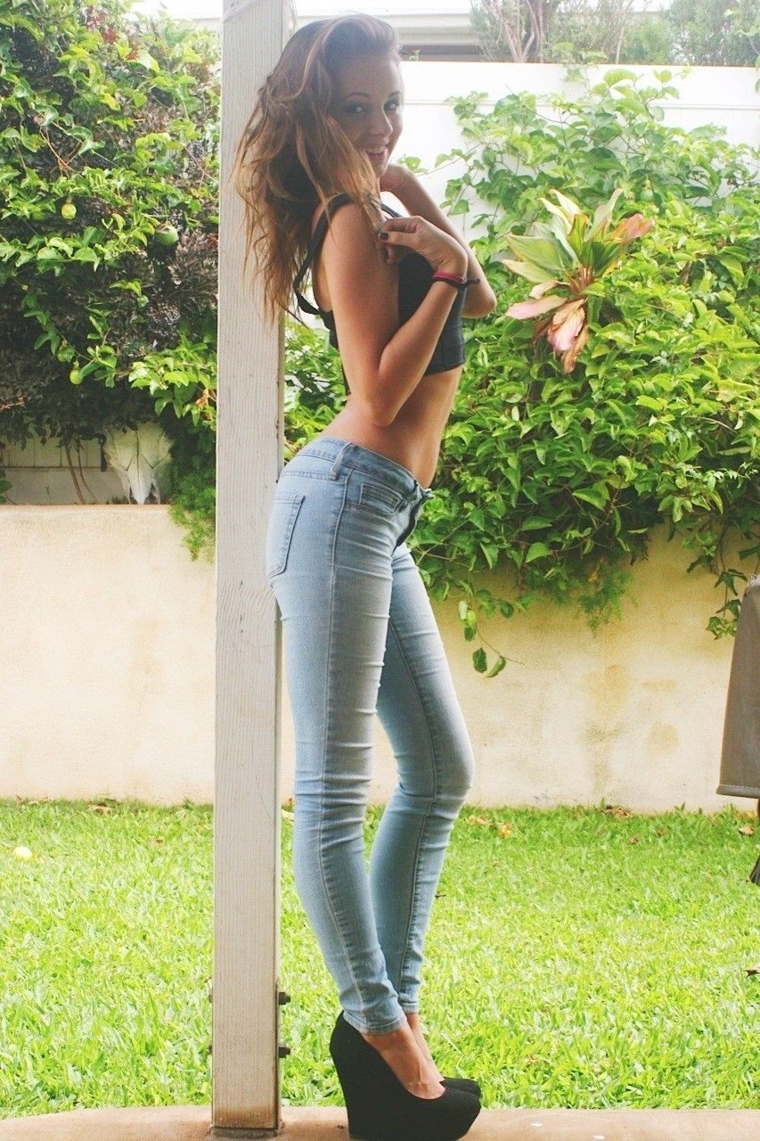 A Love of Beauty and High Heels  Photo | Woman In Jeans | Pinterest | Holy jeans Teen sluts ...