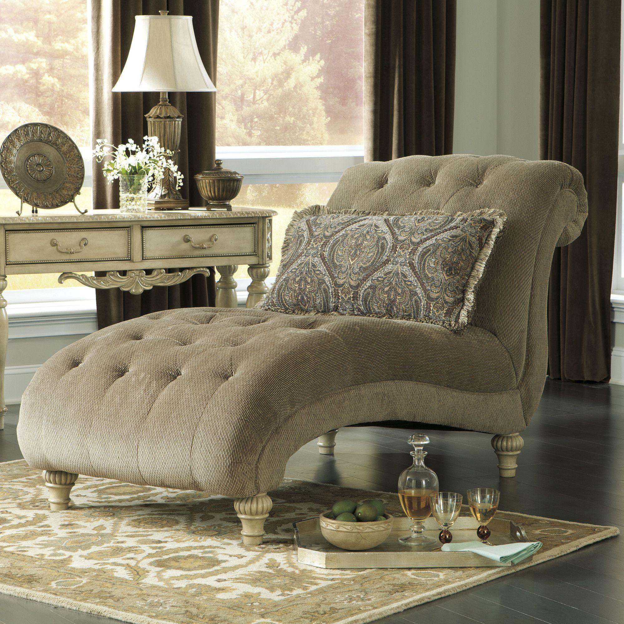 df46263660be Milton Chaise Lounge Signature Design