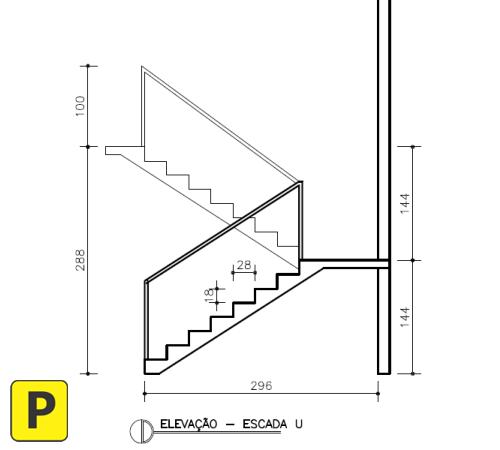 Escada U Corte Pedreirao Arquitectura Mexicana De 2019 Pinterest