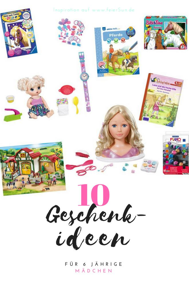 10 Geschenkideen Fur 6 Jahrige Ein Wunschzettel Feiersun De Geschenke Geschenkideen Geschenkideen Kinder