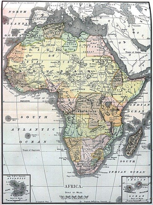 Accurate Map Of Africa.Photoessay Maps Of Africa Exploration Cartography Pinterest