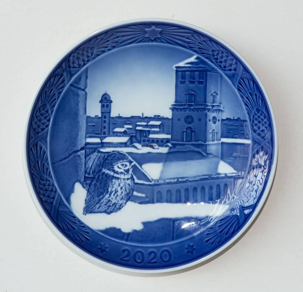 Pin on Royal Copenhagen Christmas plates 1908 2020