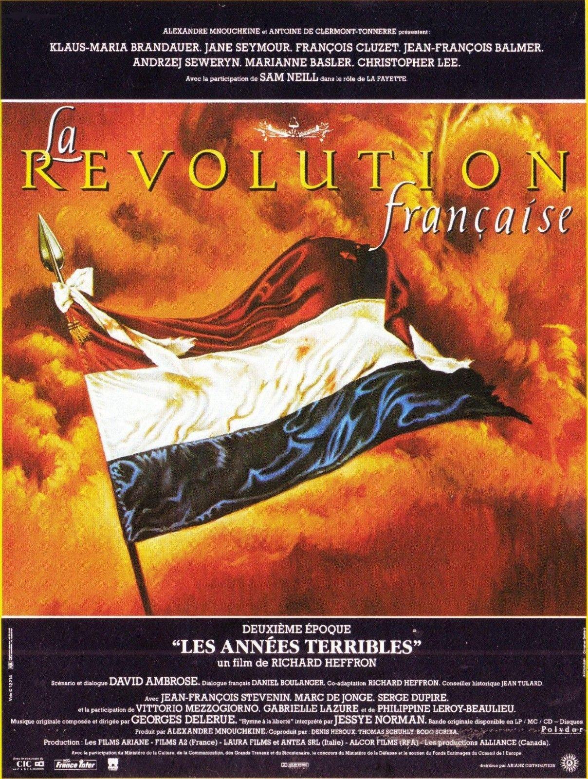 La Révolution Française.  Les Années Terribles.