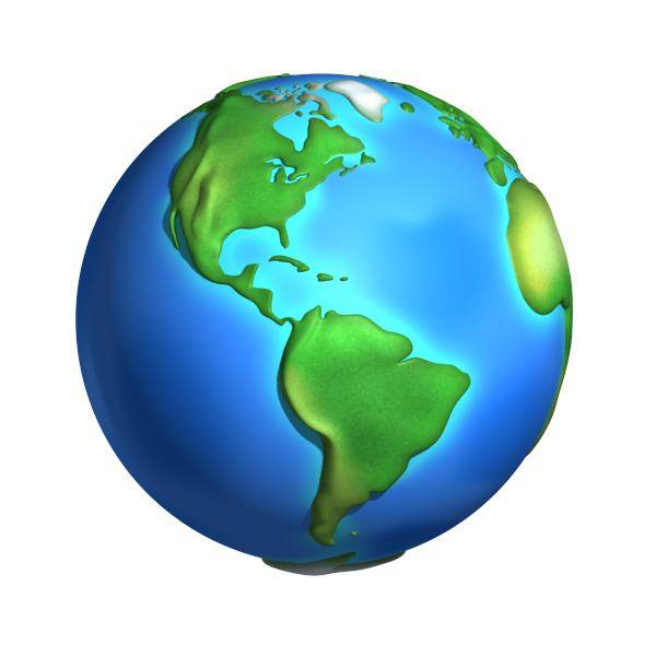 3d Cartoon Models Toon Planet Earth Earth Drawings Earth Clipart Free Clip Art