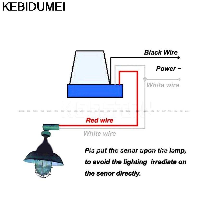 Street Light Photocell Wiring Diagram In 2020 Street Light Street Lamp Lamp