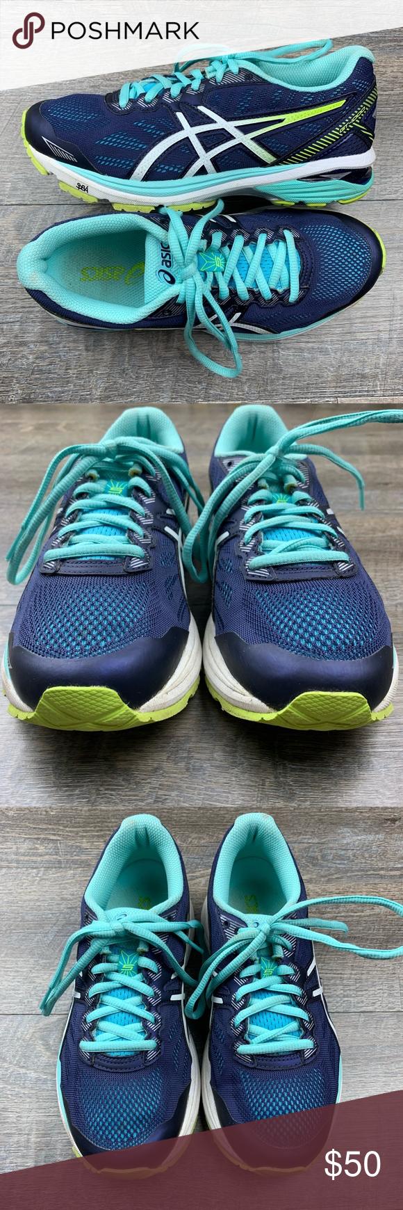 ASICS GT 1000 5 Indigo Blue Running Shoe Size 6 ASICS Womens