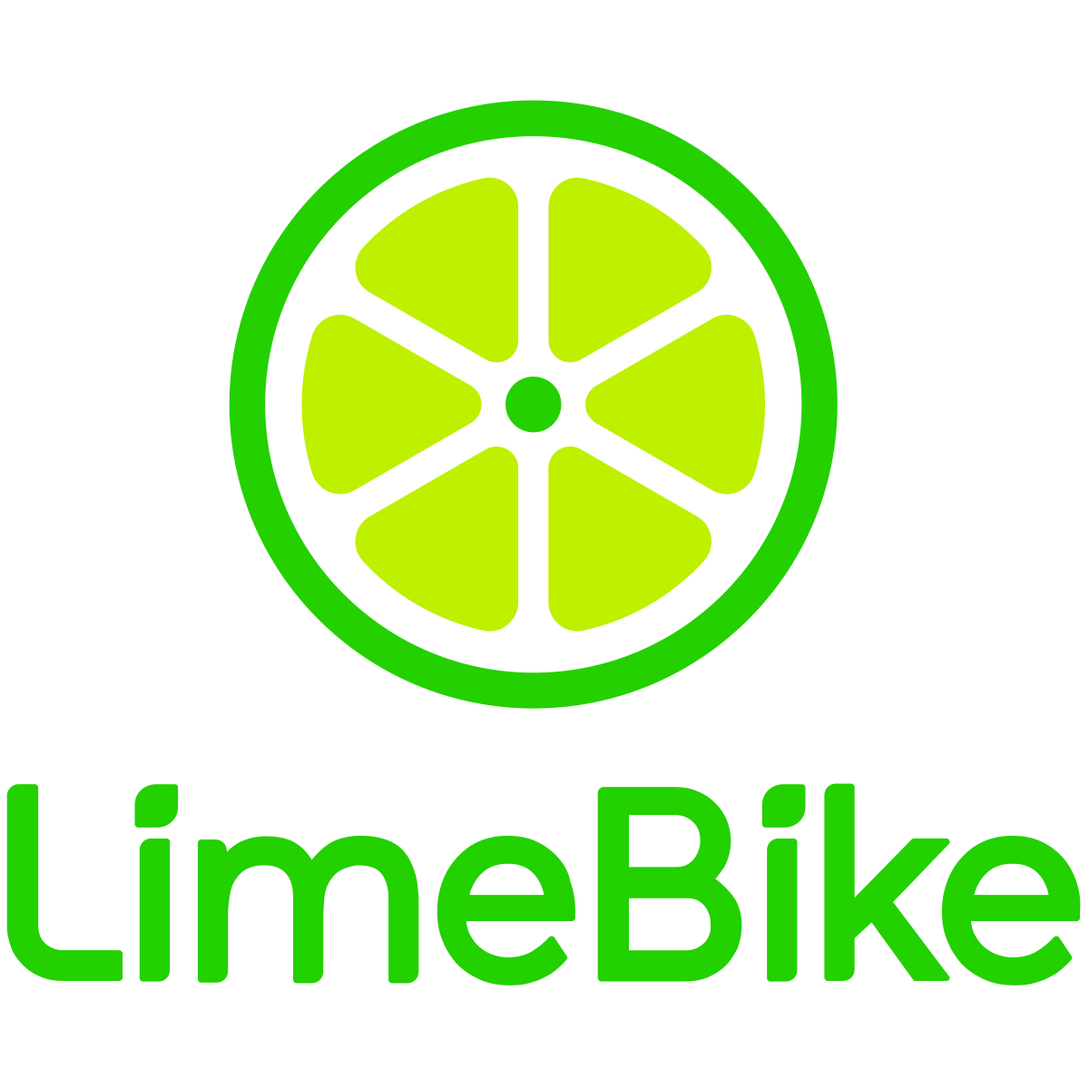Lime Bike Sharing Logo