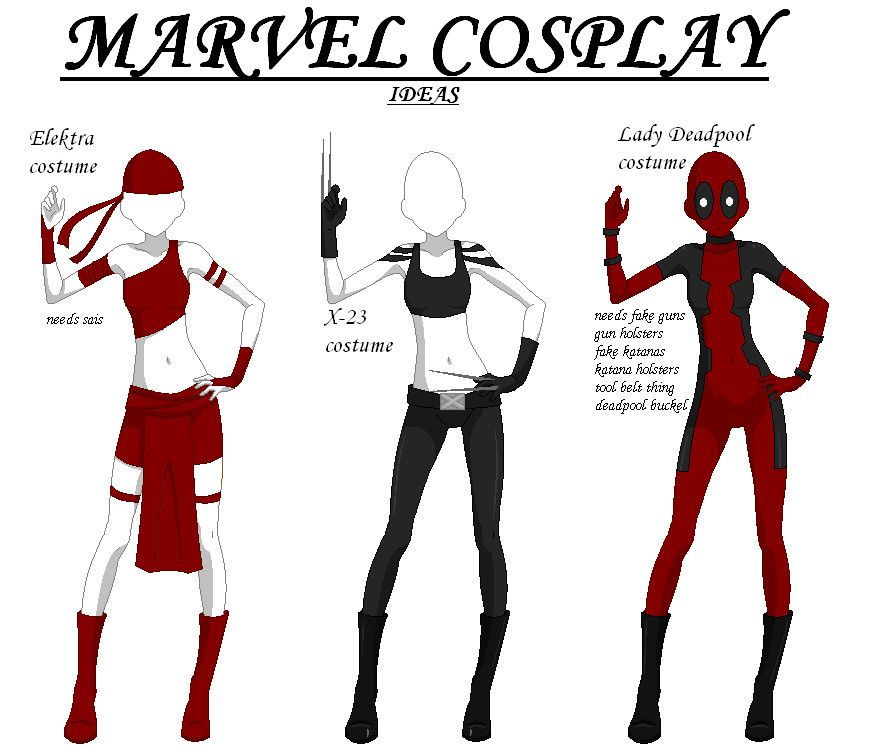 Cosplay Ideas for Girls | Marvel cosplay ideas by ~ last ...