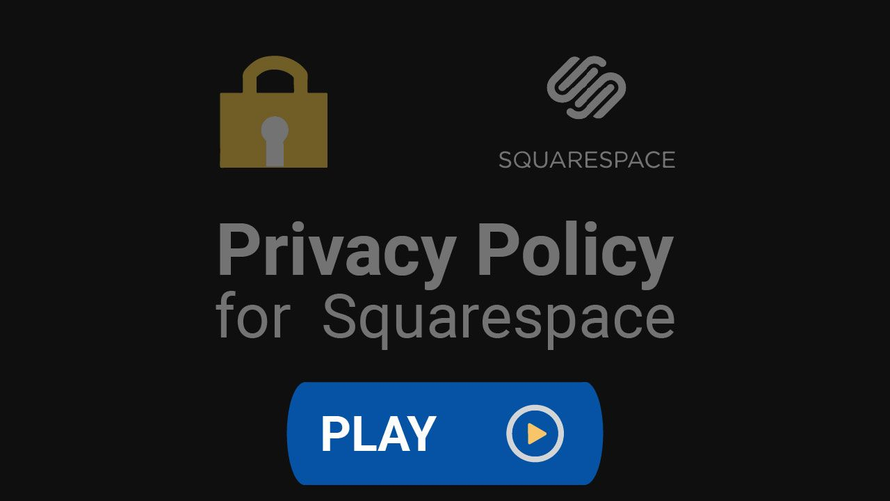 According To Squarespace S Terms Of Service You Need Your Own Privacy Policy Agreement Click To Learn How To Crea Privacy Policy Policies Squarespace Website