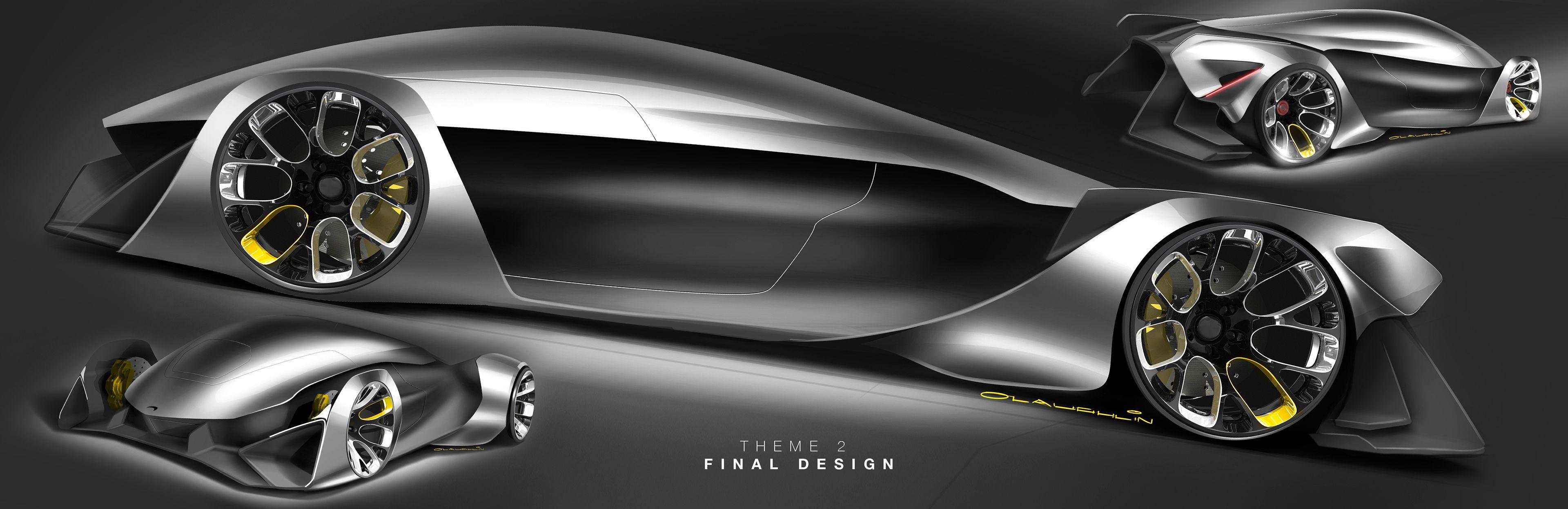 Mclaren Supercar Sketch Project On Behance Car Body Design