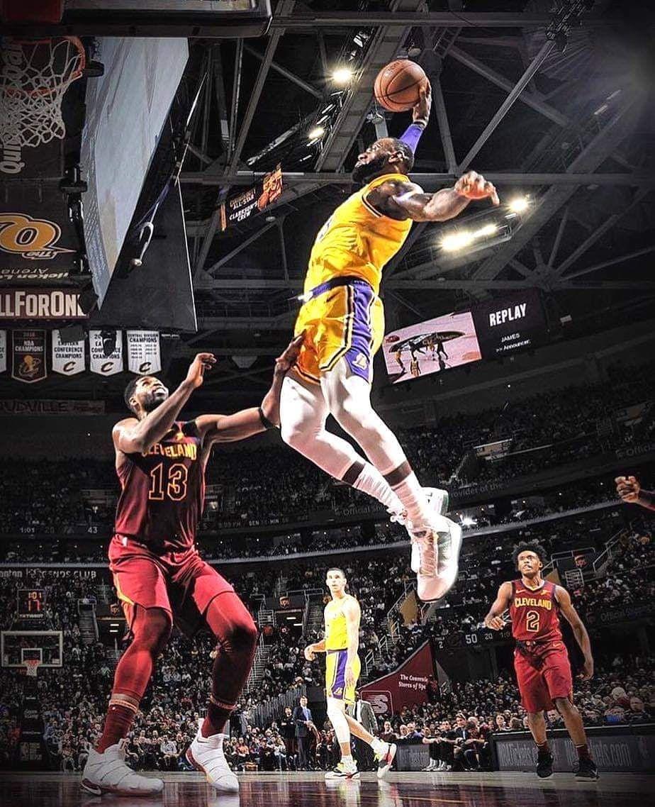 Final Score Los Angeles Lakers 109 Cleveland Cavaliers 105 Lebro Lebron James Lebron James Lakers Nba Lebron James