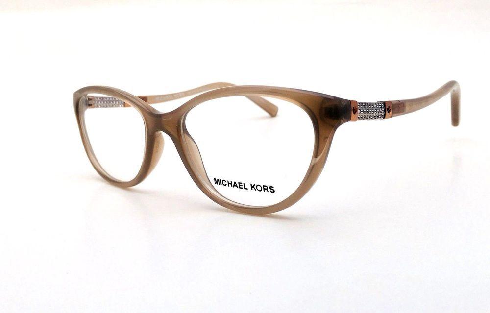 9f251b45002 MICHAEL KORS Frames Cat Eye Grey Plastic Women Eyeglasses MK 4021B 3043 52  mm  MichaelKors