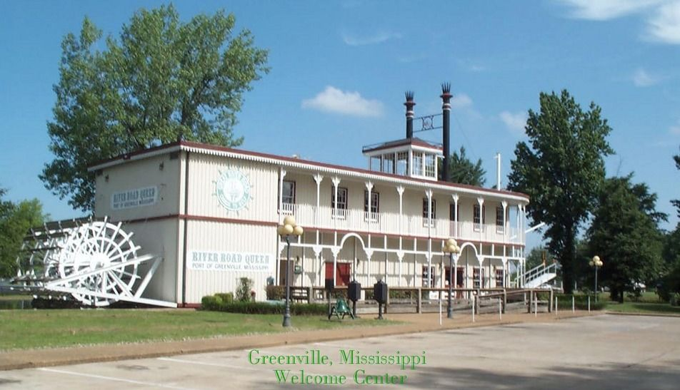 Greenville Welcome Center Mississippi History Mississippi Delta Places