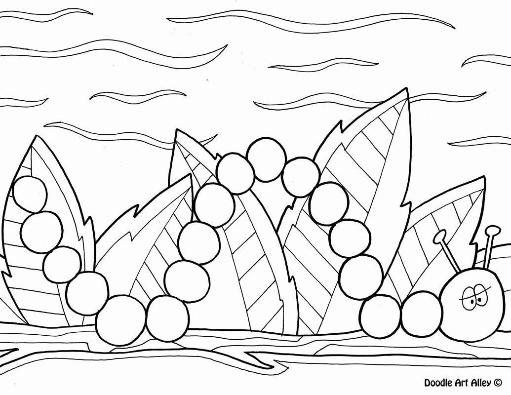 Spring Coloring Sheets For Kids New Spring Coloring Pages