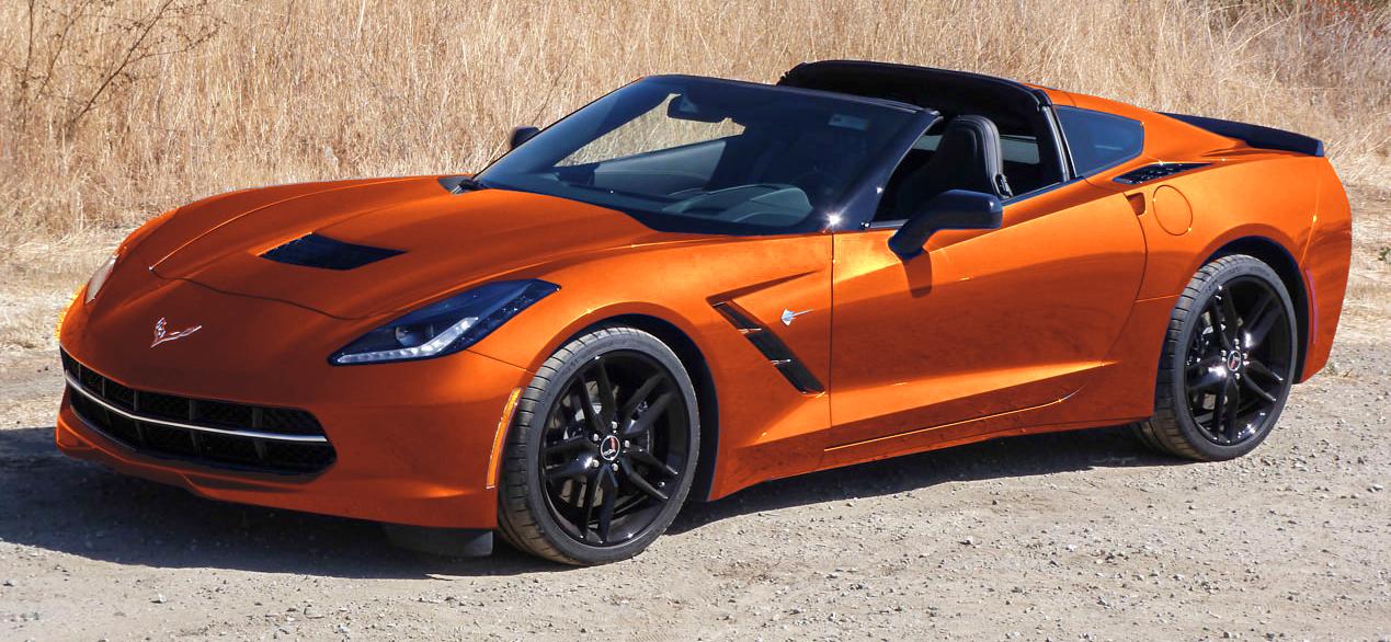 2015 Stingray New Color Daytona Sunrise Orange Metallic