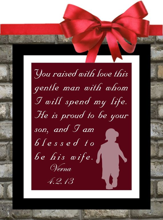 New In Laws Parents Wedding Thank You Gift By Printsinspired Wedding Thank You Gifts Gifts For Wedding Party Unique Wedding Gifts