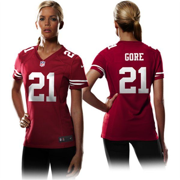 detailed look 67f29 0a453 Pin on 49ers Women's Jerseys
