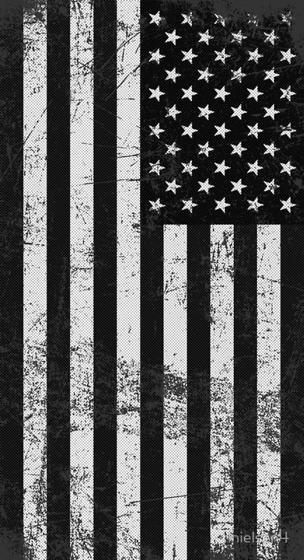 Black And White American Flag Poster By Rlnielsen4 In 2021 American Flag Wallpaper Iphone American Flag Wallpaper American Flag Drawing