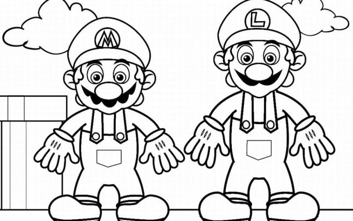 Free Printable Coloring Pages Of Mario Classroom Mario