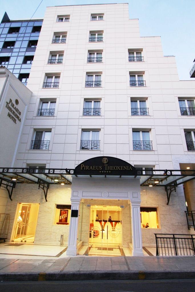 Piraeus Theoxenia Exterior View Luxury Boutique Hotel Piraeus