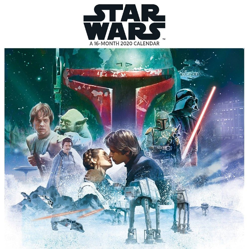 2020 Mini Calendar Star Wars Trends International en