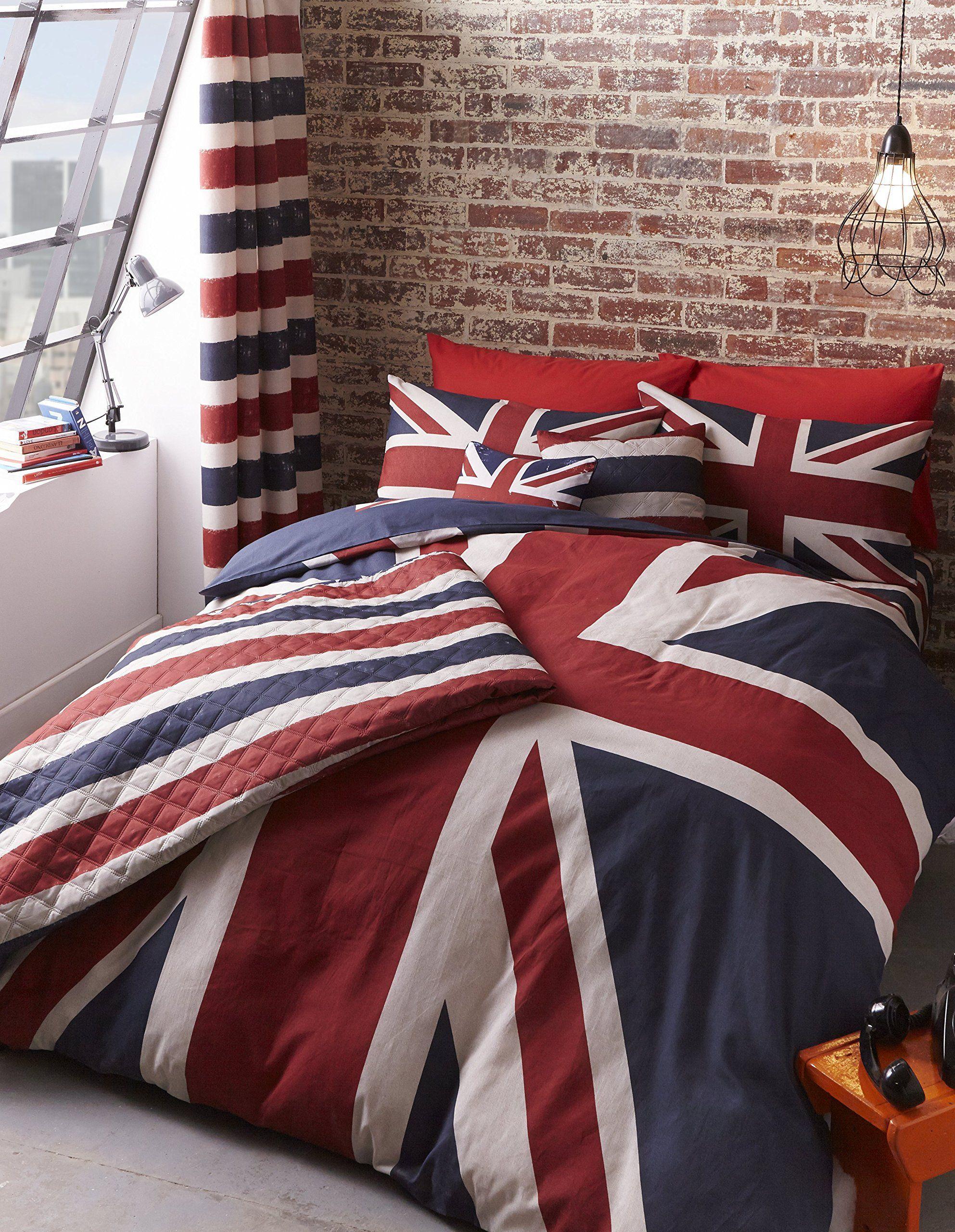 Parure De Lit London Londres Finest Lit 1 Personne Amazon Fr Cuisine Maison Schoner Wohnen Schlafzimmer Ideen Wohnen