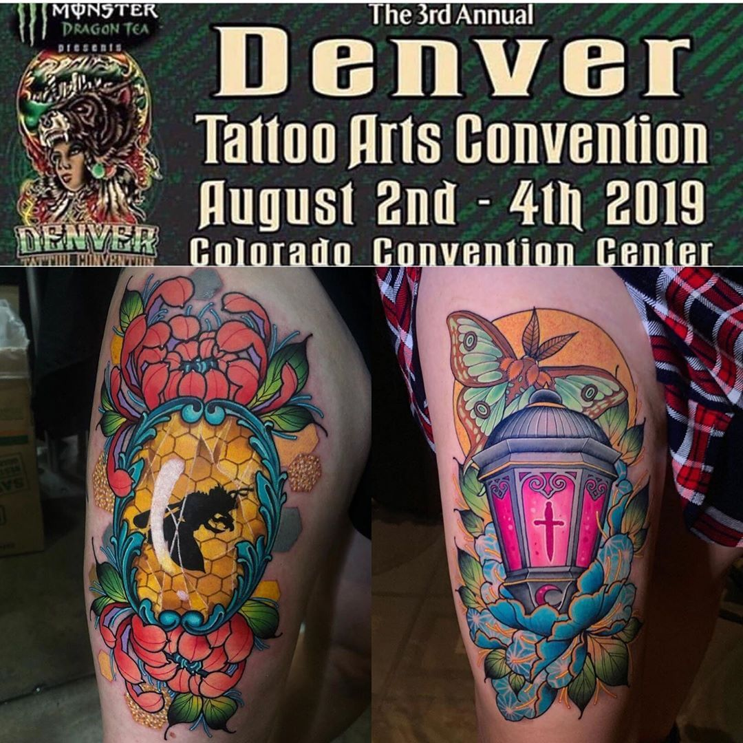 @jonleightontattoo and I are looking to collab again next month in Denver at @villainarts it would be for Saturday and we would love some…