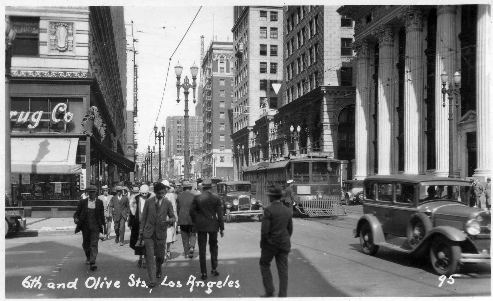 Downtown Los Angeles 1930s Los Angeles Downtown Los Angeles California History