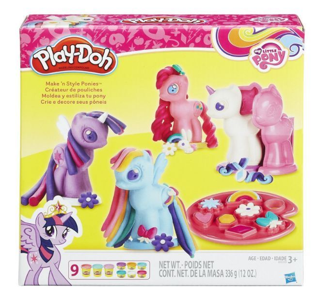 My Little Pony Make Style Ponies Set Book Molds Fun Exciting Toy Play Gift Playdoh Kids Toy Gifts Play Doh Best Kids Toys