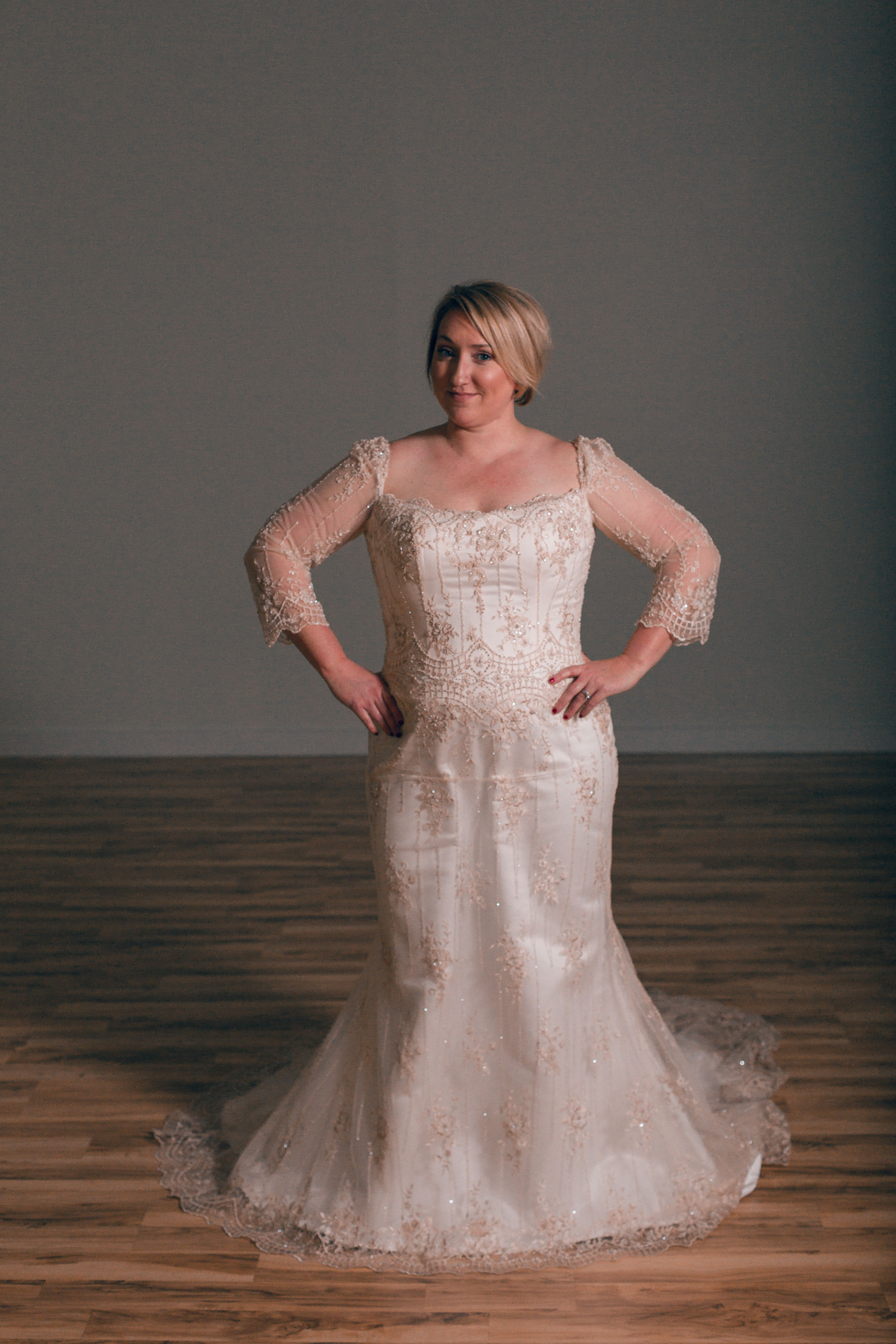 The Curvy Bride Boutique. Tulsa, OK. Casablanca Bridal #1874 ivory ...