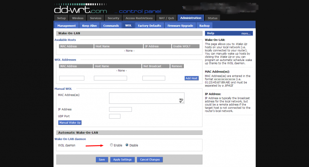 Wake on LAN (WOL): How to Activate & Use It with DD-WRT