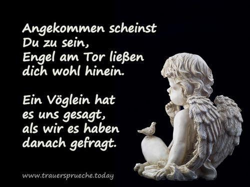 Schön Trauerbild: Kleiner Engel