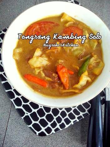 Resep Tongseng Solo : resep, tongseng, Resep, Tongseng, Kambing, Nugroho's, Kitchen, Makanan,, Daging, Domba,, Masakan, Malaysia