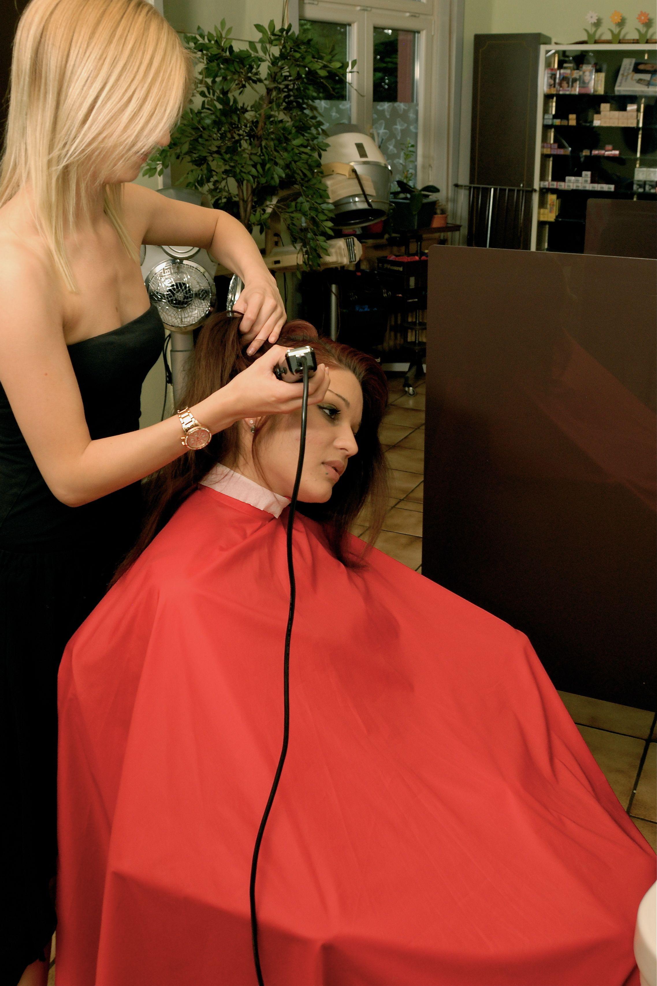 Bild 07 Shaved Hair Cuts, Shaved Heads, Bald Girl, Long Hair Cuts,