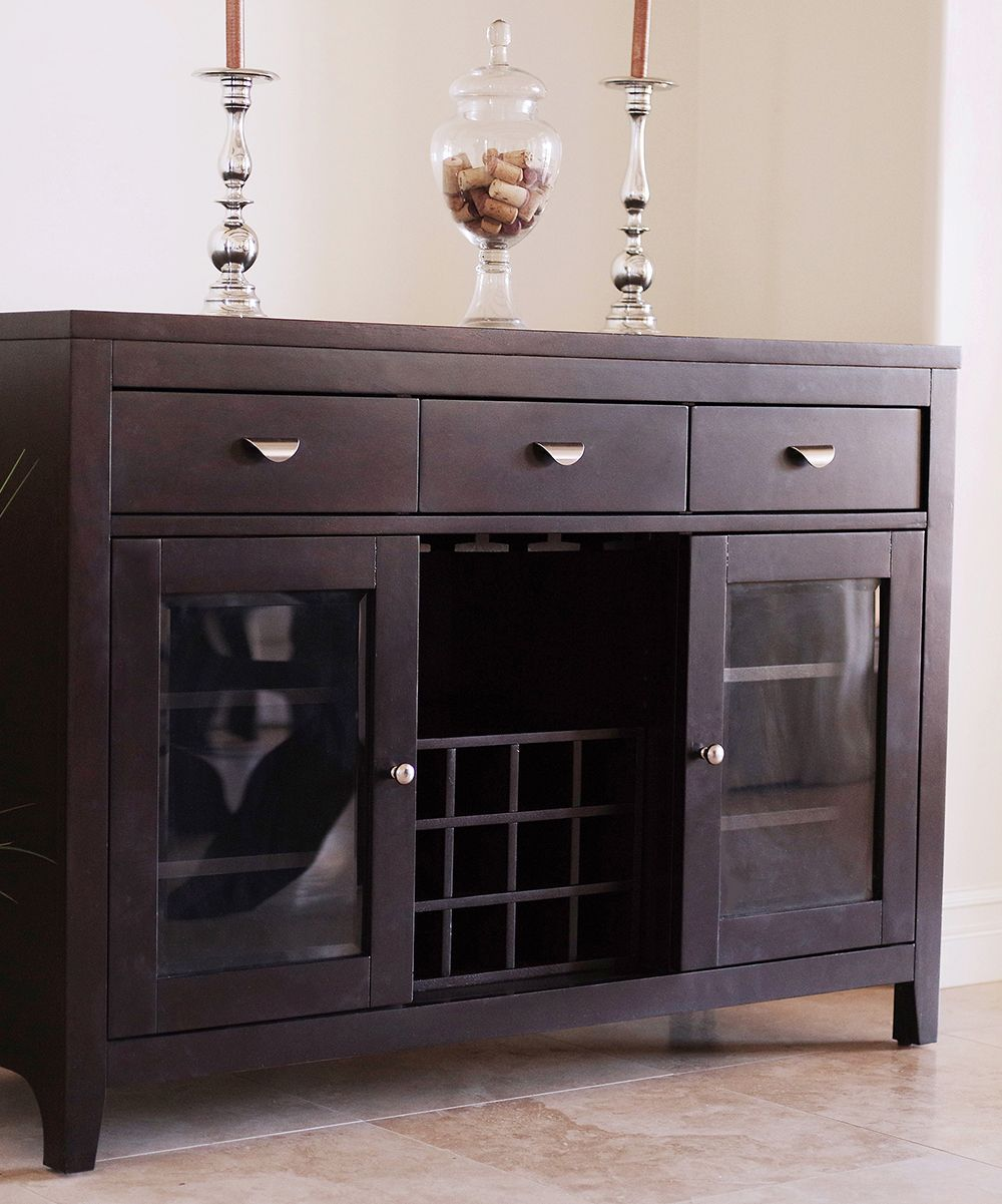 Sideboard Buffet Espresso Espresso Belmont Dining Buffet Server Products In 2019 Dining