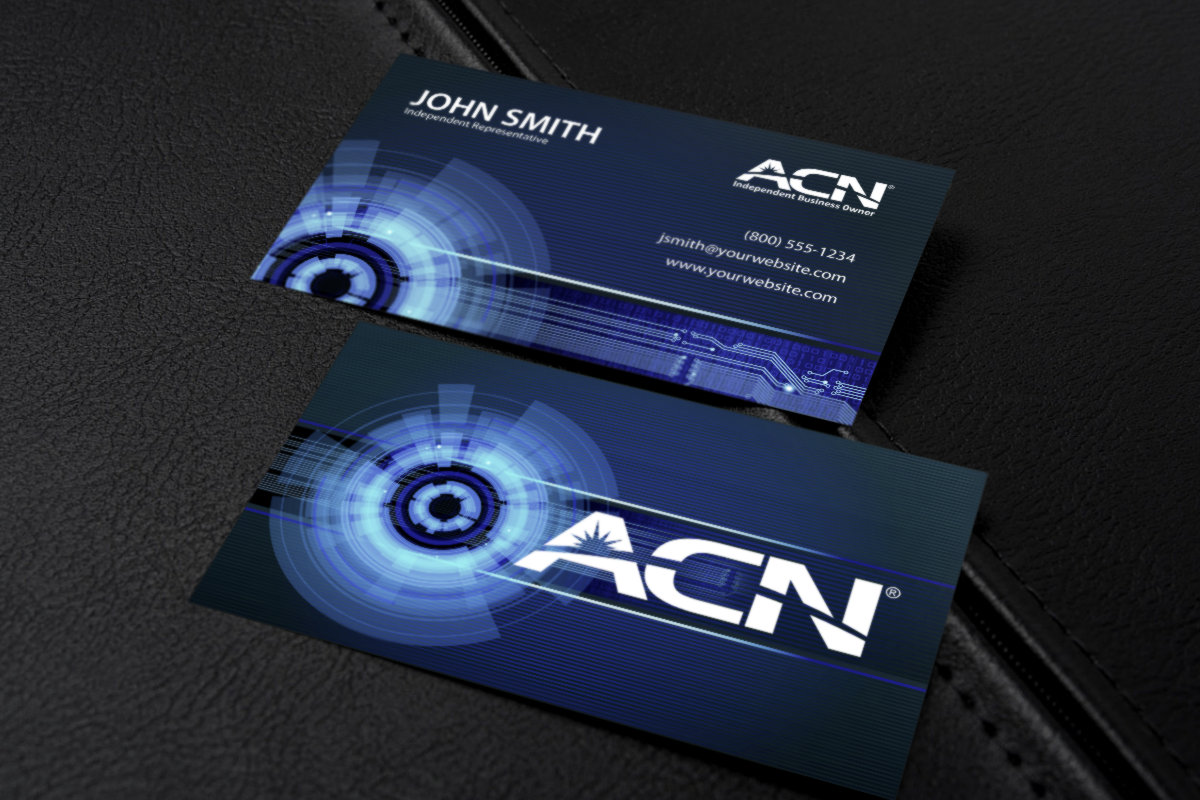 Make A Great First Impression With Our Acn Business Cards Mlm Acn Print Paper Graphicdesign Bu Free Business Cards Contact Card Printing Business Cards