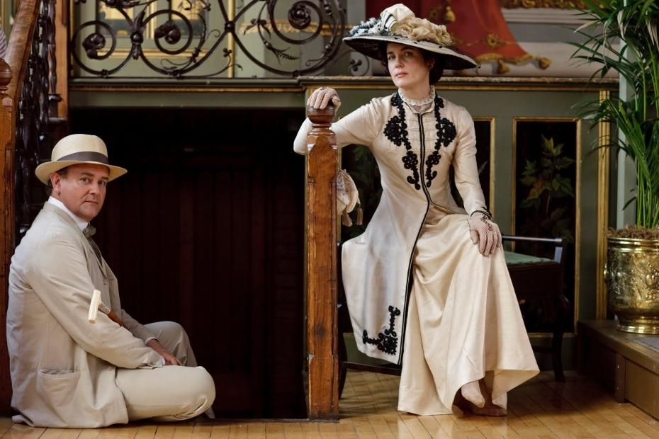 Downton Abbey temporada 4 : Robert y Cora Crawley, señores de ...