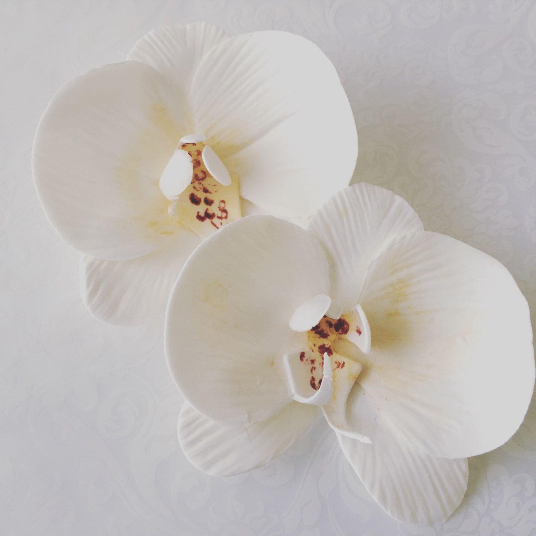 6 Fondant Orchids 6 Gumpaste Orchids Edible Orchid Edible Flowers Fondant Flower Edible Flower Flowers F In 2020 Edible Flowers Gum Paste Flowers Fondant Flowers