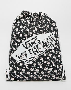 Vans Drawstring Backpack in Ditsy Floral  a5d766371d726