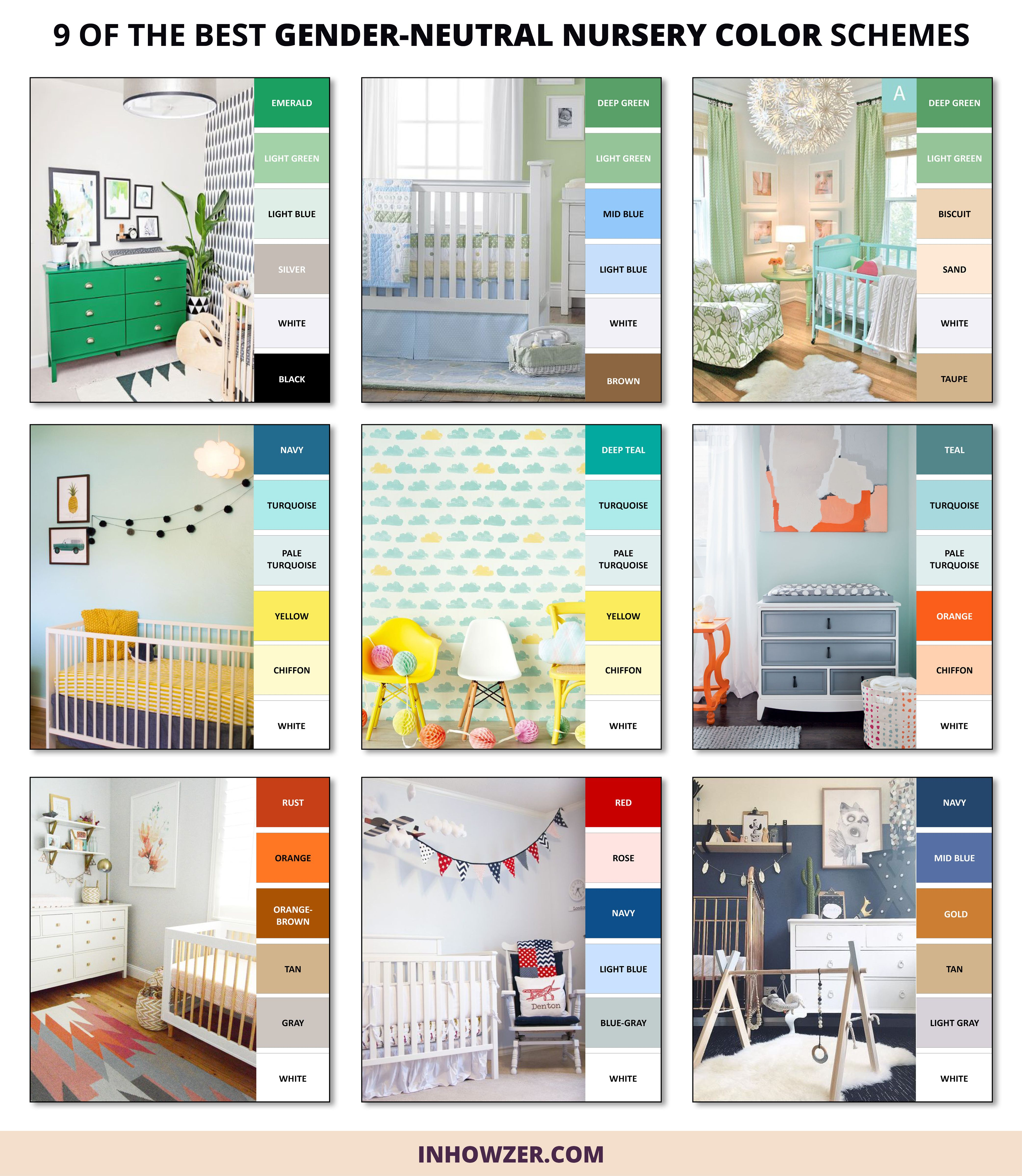 Looking for gender neutral colors for your uni nursery