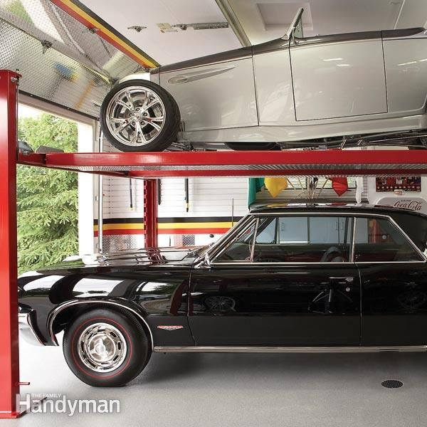 Pro Tips For Planning Your Dream Garage: Dream Garage: Double-Decker Car Storage