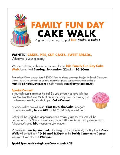 we could do cupcakes it would be a great prizecake walk - Halloween Cake Games