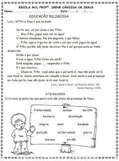 Pin Em Avaliacao Educacao Infantil